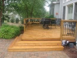 49 wood patio pavers stone paver deck professional deck builder finishes timaylenphotography com