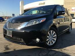 New 2017 Toyota Sienna AWD XLE Limited Package DZ3DCT BK 4 Door ...
