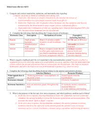 Miniexam 4 Review Key Psych330 Physiological Psychology