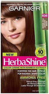Garnier Herbashine Haircolor 535 Medium Gold Mahogany Brown
