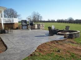 concrete patio with fire pit. Delighful Pit Stamped Concrete Patio With Firepit Throughout Concrete Patio With Fire Pit C