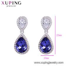 china 92615 custom jewelry whole crystals from swarovski earrings
