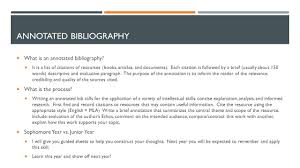 Latex Bibliography Annotated