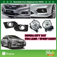 Honda City 2017 Fog Lamp Sport Light With Fog Lamp Cover