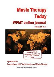 13 onde foi que eu errei vivian perl/álvaro socci/cláudio matta. Music Therapy Today Wfmt Online Journal Volume 16 No 1 By World Federation Of Music Therapy Issuu
