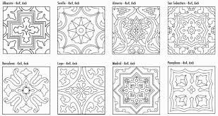 Decorative Tile Designs Product Highlight Cuerda Seca Decorative Tiles Patterns Pottery 7