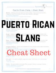 Puerto Rican Slangs 10 Words And Expressions To Learn