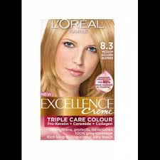 golden brown loreal hair color in