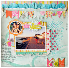 How To Design A Scrapbook Scrapbook Page By Kim Watson Getitscrapped Com Blog