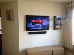 glamorous corner wall mount for flat screen tv with shelves pics design inspiration