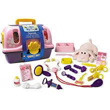 Get Toys R Us Plush Pink Veterinarian Kit On Sale today at your local !  Compare Prices and check availability for Toys R Us Plush Pink Veterinarian  Kit.