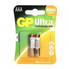 Купить <b>Элемент питания GP</b> Ultra Alkaline AAA бл 2 24AU-CR2 - в ...