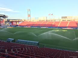 Toyota Stadium Football Seating Chart Toyota Stadium Section 109 Fc Dallas Rateyourseats Com