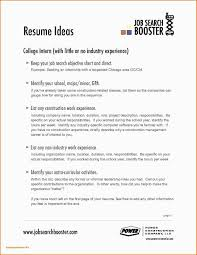 96 Resume Templates For Highschool Students With No Work Experience