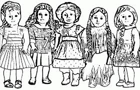 Small Picture American Girl Doll Felicity Coloring Pages Printable Coloring Sheets
