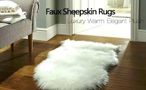 faux sheepskin rug ikea sheep fur review washing