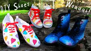 Diy Shoes Design Step By Step Diy Clothes 3 Diy Shoes Projects Diy Sneakers Boots Fashion More Amazing