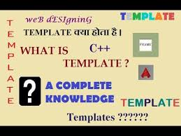 What Is Tamplate What Is Template Template Kya Hota Hai A Complete Knowledge For Templates