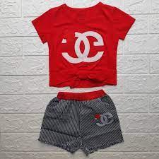 Bộ đồ ngắn cho bé gái sơ sinh, bé nhỏ mặc đi chơi, áo thun cotton 4 chiều  mềm mại, bé 7-12kg mặc được. giảm chỉ còn 100,000 đ