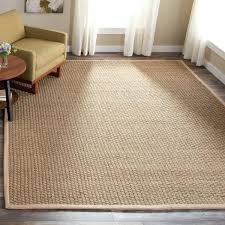 seagrass rug 8x10 handwoven natural beige area rug pottery barn seagrass rug 8x10
