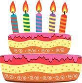 birthday cake clip art. Brilliant Clip Birthday Cake And Candle Birthday Intended Cake Clip Art K