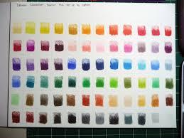 Derwent Coloursoft Color Chart Full Range C Recently Found