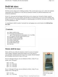 American Wire Gauge To Mm Pdf Best Letter Drill Sizes Drill