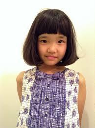 ヘアカタログ 子供 女の子 Hair 1 Girl Tops