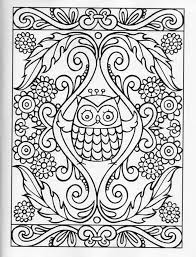 0cdb84bb7421a225a87832a6e1f204e8 owl coloring pages printable adult coloring pages 28 best images about mehndi on pinterest tambourine, henna,