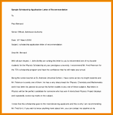 Sample Scholarship Request Letters 15 Letter For A Scholarship Request Statement Letter
