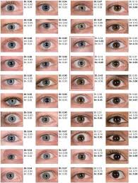 What Does Your Eye Color Say About You Eye Color Chart