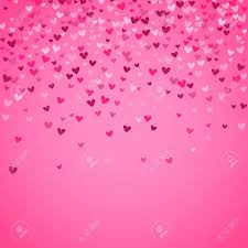 Pink Background Design Romantic Pink Heart Background Vector Illustration For Holiday