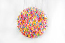 gummy bear chandelier diy lighting 12