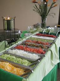 taco bar for the reception easy affordable yummy and fun rods idea for food at the reception