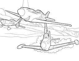 Small Picture Ripslinger Surpass Dusty on the Race in Disney Planes Coloring