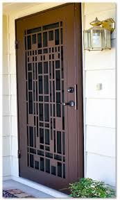 security screen door. Lifetime Structural Warranty Security Screen Door D