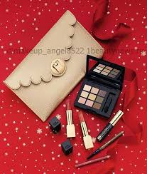 other sets look at the estee lauder the kit includes deviationa palette eyeshadow two l lipstick eyebrow pencil lip pencil and mascara