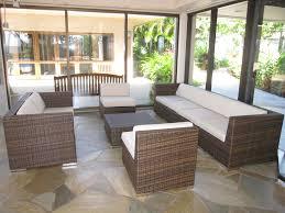 Ohana Wicker Furniture Outdoor Patio Furniture Deep Seating Set in