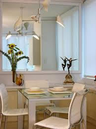 Living And Dining Room Furniture Decorating With Mirrors Hgtv