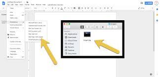 secret menu for google slides docs