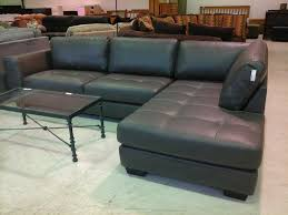 Trend Charcoal Grey Sectional Sofa 44 On Black Leather Sectional Throughout  Black Leather Sectional Sleeper Sofas