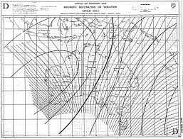 Magnetic Declination Chart Insight