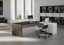 modern office desks. Interior And Furniture Design: Spacious Contemporary Office Desk On San Diego ISABEL B Modern Desks E