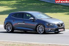 2018 renault rs. wonderful 2018 2018 renault megane rs prototype intended renault rs e