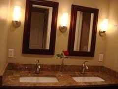 double vanity lighting. We Used 3 Sconces In Our 60\ Double Vanity Lighting I