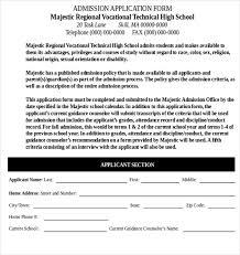 11 School Application Templates Pdf Doc Free Premium