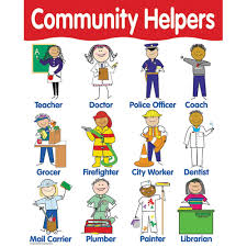 Our Community Helpers Chart Chart Community Helpers