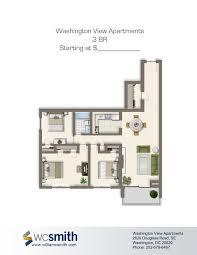 Floor Plans For Apartments 3 Bedroom New Floor Plans For Apartments Elegant 2  Bedroom Apartment $800