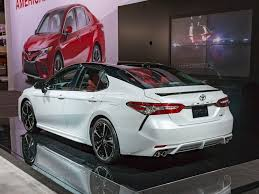 Toyota: The Concept Toyota Camry 2019-2020 Rear Spy Shot - New Car ...