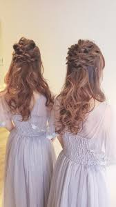 ブライズメイドハーフアップ Hair Style2019 ヘアアレンジ